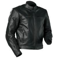 **CASTLE PROFILE LEATHER JACKET LARGE**FEATURES::1.2-1.4 Full grain cowhide leather constructionPerforated leather under armsPre-curved sleevesRemovable quilted insulated linerComfort-Flow Polyester mesh lined interior5 easy access pock