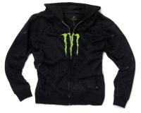 ***Product Description*** Monster Energy Guys Hoody with green Monster Energy logo on center chest. Green techtonic lined Monster logo background, full zip and kangaroo front pockets complete this great Monster Energy Hoody. The lifestyle of a motoc