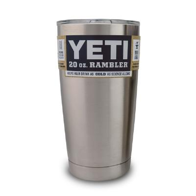 We hate when our favorite beverage loses its frosty (or piping hot) goodness before we can fully enjoy it. Thats why we over-engineered our Rambler Tumblers with kitchen-grade 18/8 stainless steel and double-wall vacuum insulation. Rambler Tumblers keep i