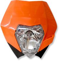 Put some light on the trail with this KTM headlight kit.
