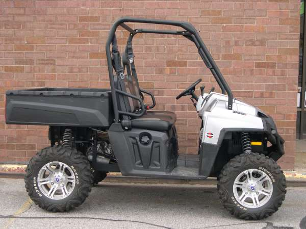 Polaris Ranger 800 XP Turbo Silver LE 2010