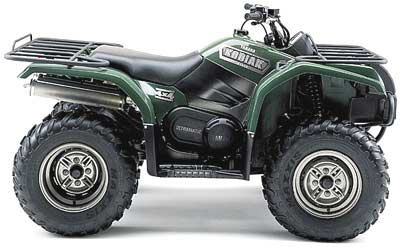 2003 Yamaha Kodiak 450 Automatic 4x4
