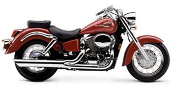 Honda Shadow ACE 750 Deluxe 2003