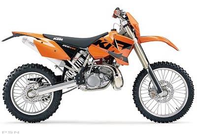 2004 KTM 200 EXC
