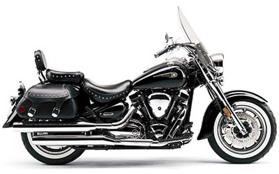 2004 Yamaha Road Star Midnight Silverado�
