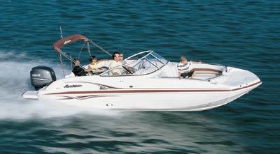 2004 Hurricane Boats SunDeck 237 Outboard
