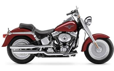 Harley-Davidson FLSTF/FLSTFI Fat Boy 2004