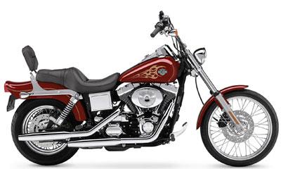 Harley-Davidson FXDWG/FXDWGI Dyna Wide Glide 2004
