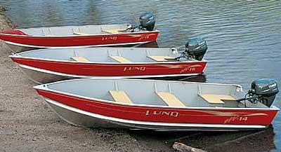 2004 Lund SSV-16 Tiller