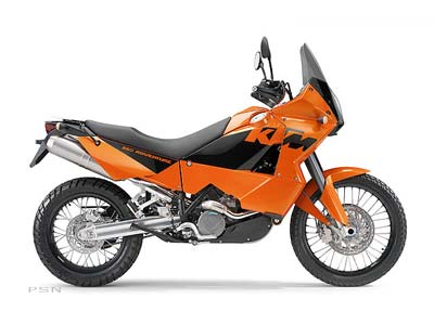 2006 KTM 950 Adventure Orange