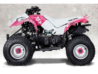 2007 Polaris Pink Youth Predator 50