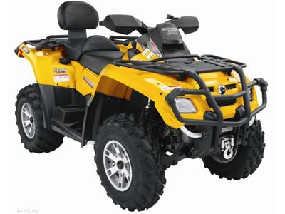 Can-Am Outlander MAX 500 HO EFI XT 2008