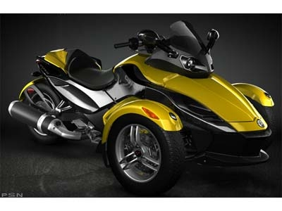 Can Am Spyder Roadster. Can-Am Spyder GS (SE5) 2008