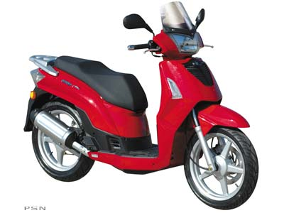 Kymco People S 50 4T 2008