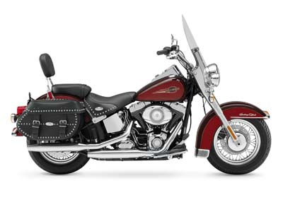 Picture of a Harley-Davidson FLSTC Heritage Softail Classic 2008
