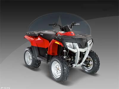 2009 Polaris Sportsman 300 4X4 http://performance100.net/2009-polaris-sportsman-300/