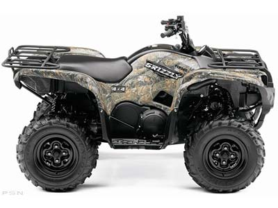 Yamaha Grizzly 700 FI Auto. 4x4 EPS Ducks Unlimited Edition 2009