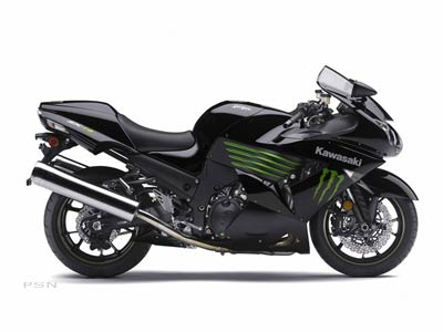 2009 Ninja ZX-14 Monster Energy