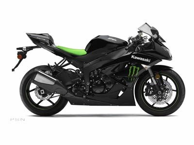 2009 Kawasaki Ninja� ZX�-6R Monster Energy�