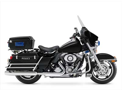 2009 Police Electra Glide