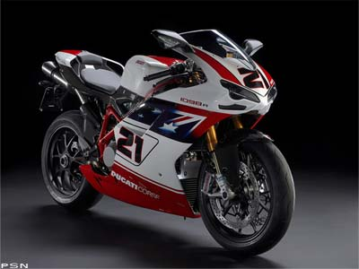 2009 Ducati Superbike 1098 R Bayliss LE