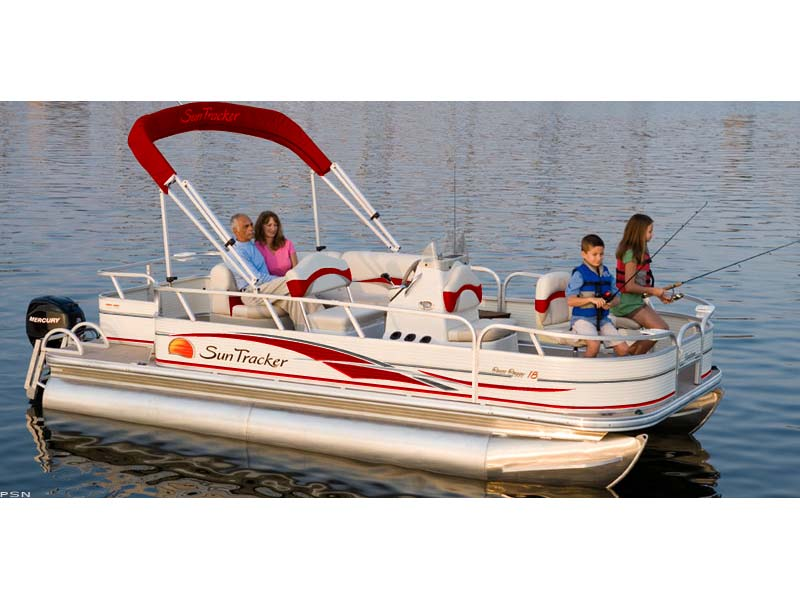 2009 Sun Tracker Party Barge� 20 Regency Edition