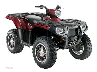 2010 Polaris Sportsman  850 XP EPS Crimson Red LE