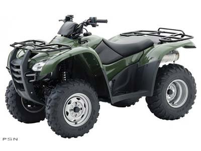 2010 Honda FourTrax Rancher 4x4 ES (TRX420FE)