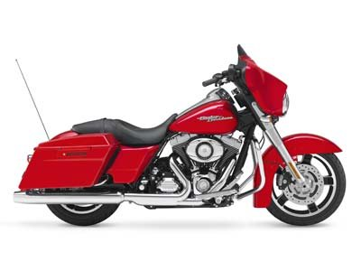 Beautiful pin striping, rider backrest, audio, Vance & Hines pipes