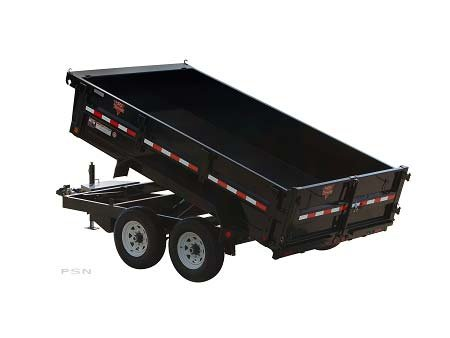 PJ Trailers 83 in. Tandem Axle Dump (D7) 2011