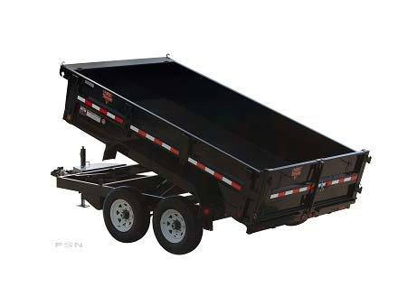 PJ Trailers 83 in. Tandem Axle Dump (D7) 2011