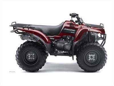 Kawasaki Prairie 360 4x4 2010