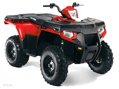 Polaris Sportsman 500 HO 2011