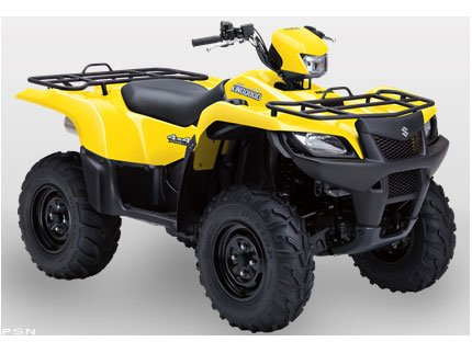 2011 Suzuki KingQuad 750AXi Power Steering