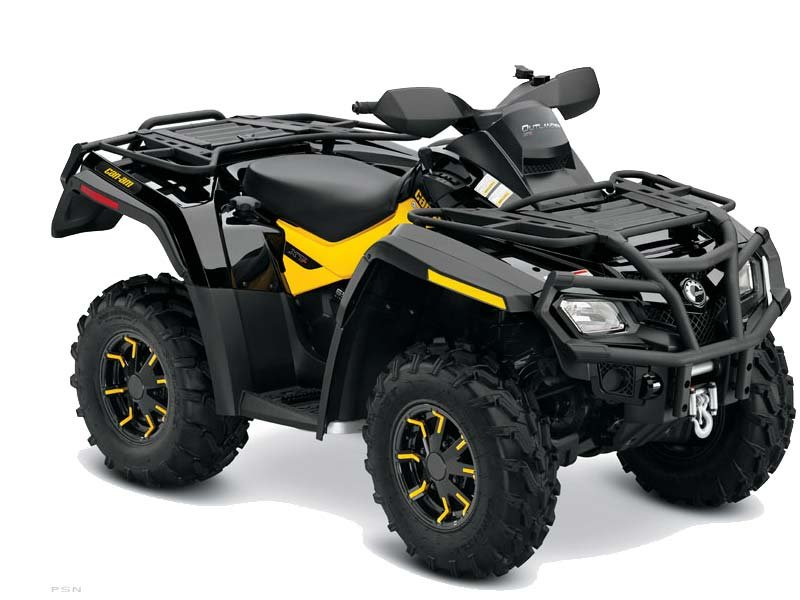 Can-Am Outlander 650 EFI XT-P 2011