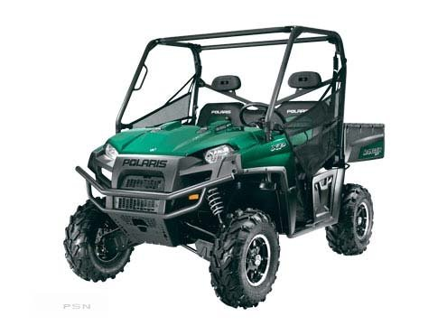 2011 Polaris Ranger XP 800 Northwoods Green LE