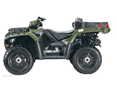 Polaris Sportsman X2 850 Sage Green LE 2011