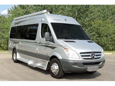 2011 Pleasure-Way Mercedes Benz Plateau TS