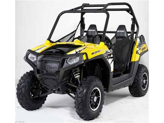 2011 Polaris Ranger RZR� 800 Screamin' Yellow LE