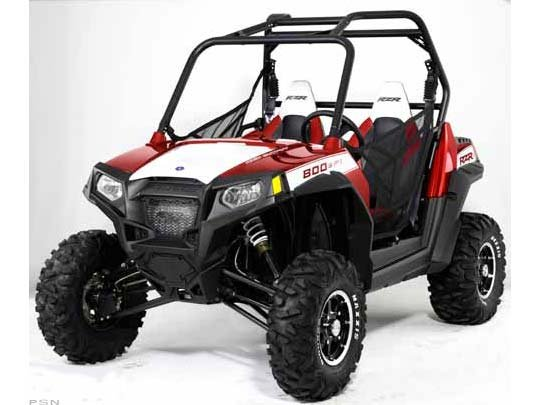 Polaris Ranger RZR S 800 Sunset Red Rally LE 2011
