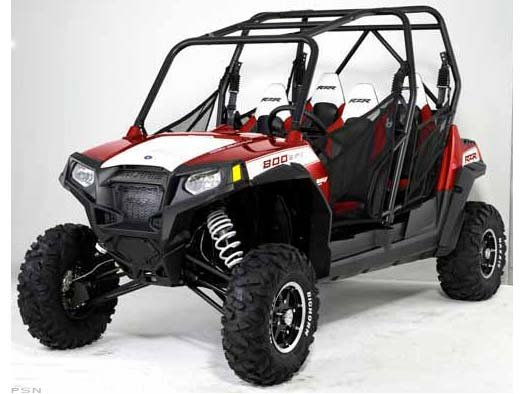 Polaris Ranger RZR 4 800 Sunset Red Rally LE 2011