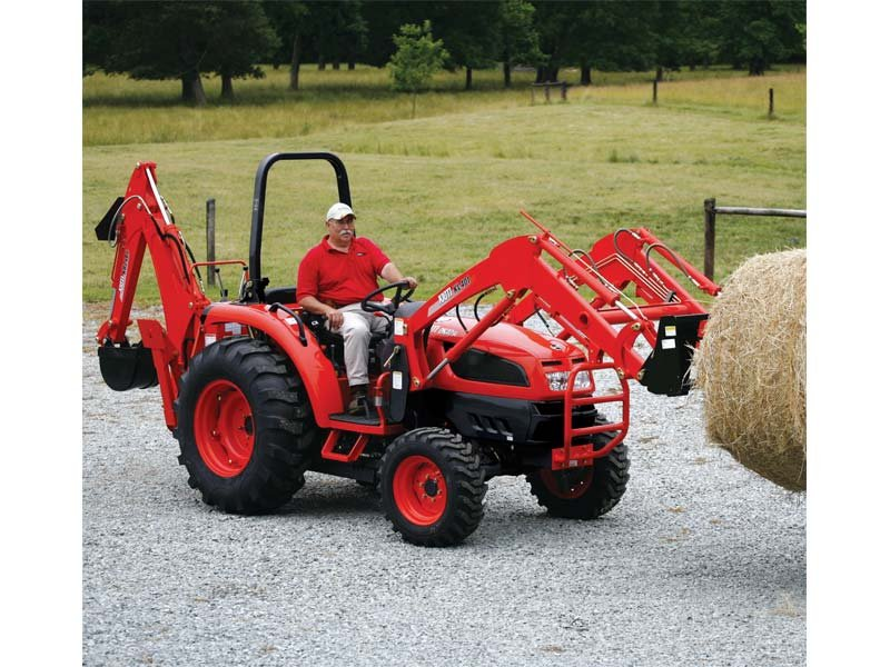 Tractor loader package loaded with features.