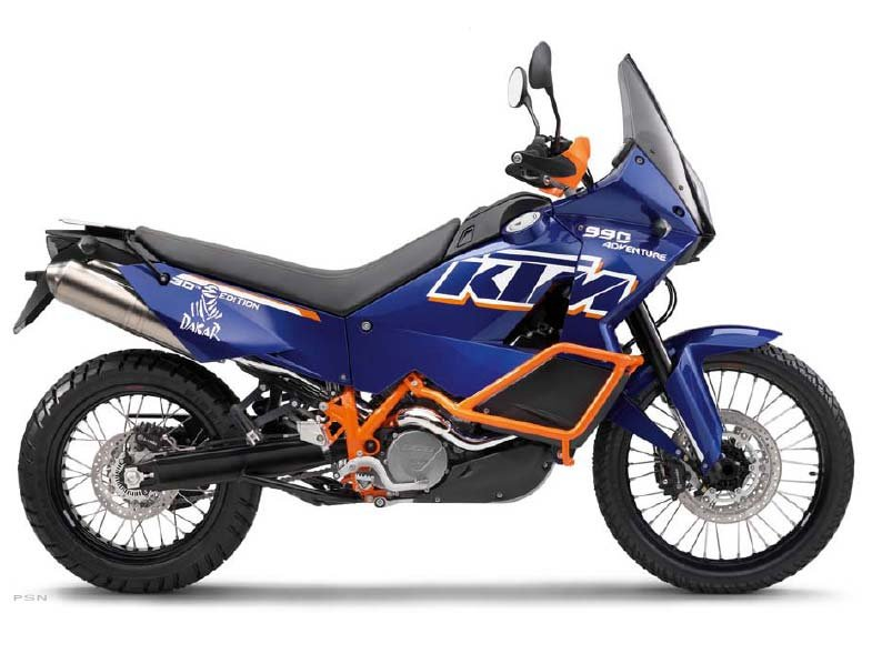 KTM 990 Adventure Dakar Edition 2011