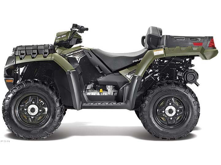 2012 Polaris Sportsman X2 550