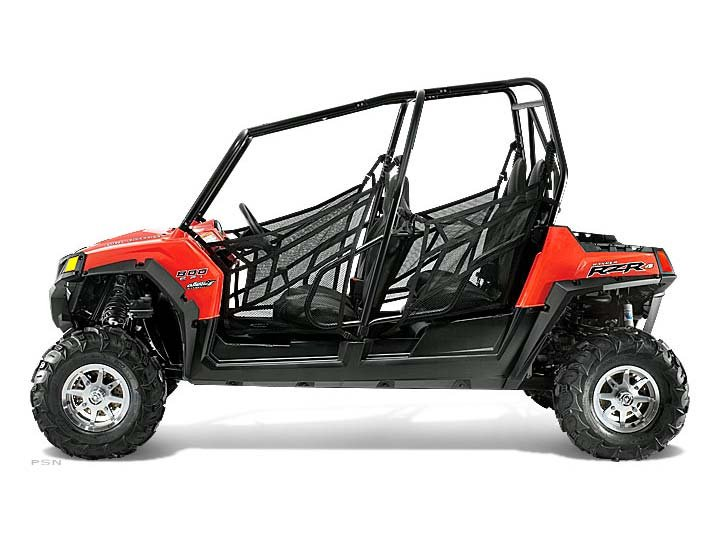 2012 Polaris Ranger RZR 4 800 Robby Gordon Edition