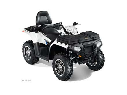 2012 Polaris Sportsman Touring 850 H.O. EPS Pearl White LE