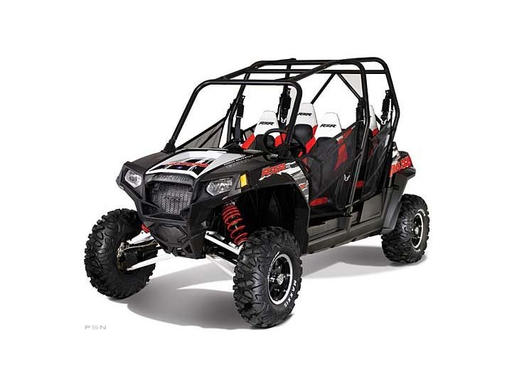 2012 Polaris Ranger Rzr 4 Eps Black / White / Red Robby Gordon Le