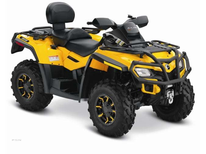 2012 Can-Am Outlander MAX 650 EFI XT