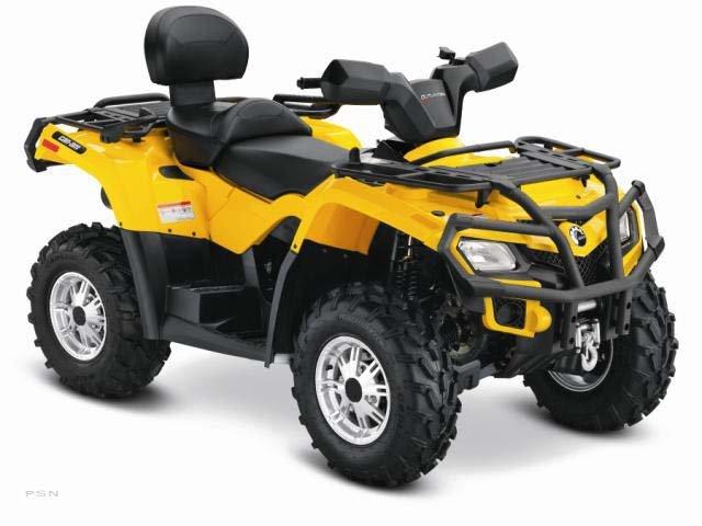 2012 Can-Am ATV Outlander Max 400 Efi Xt