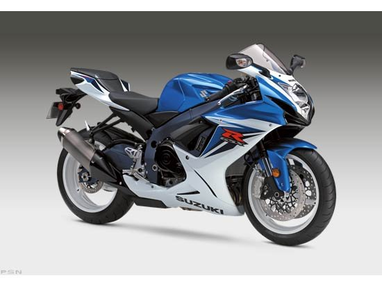 2012 Suzuki GSX-R600